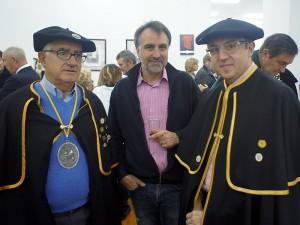 Quinito, Txerra Ordeñana y Manuel Romeo