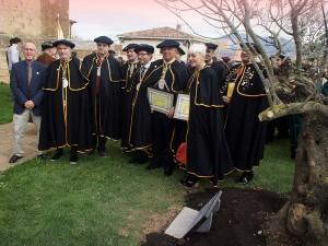 Cofrades de Honor y Autoridades, con Jesús Marín