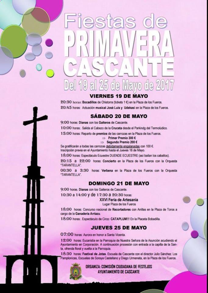 Fiestas Primavera en Cascante