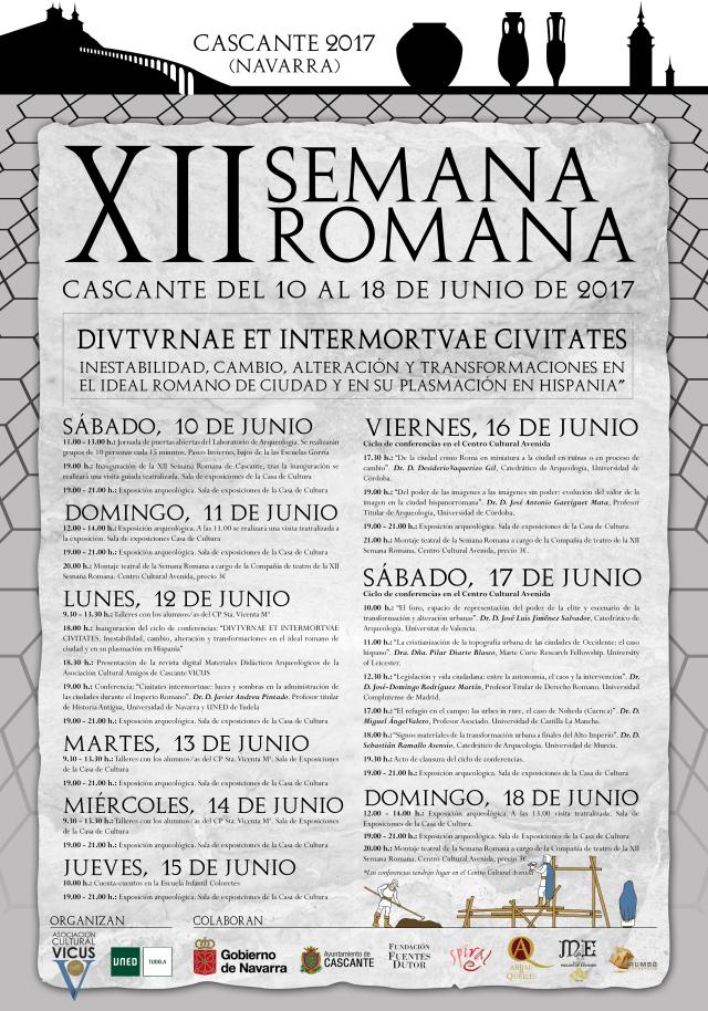 Cartel Semana Romana 2017